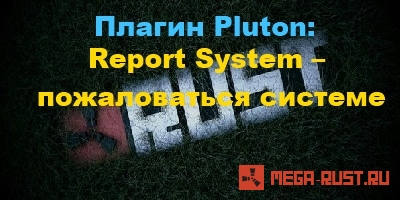 Report System – пожаловаться системе