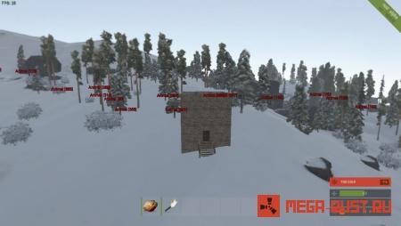 Rust Experimental Карта Плагин