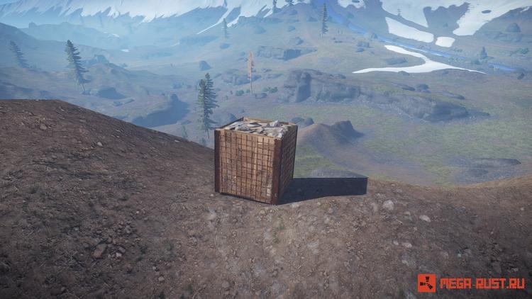 каменная барикада раст