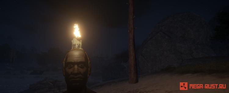свеча на голове раст